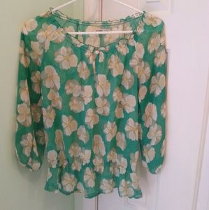 Women's size medium Old Navy sheer blouse